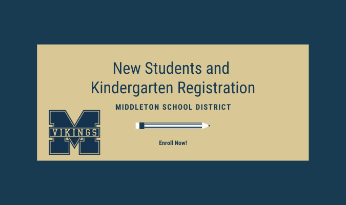 New Student and Kindergarten Registration